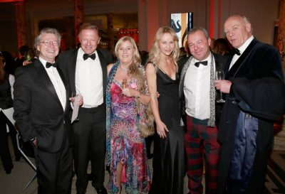Graham Boynton, Lord Anthony St John Bletso, Tanya Andrews, Lady Anthony St John Bletso, David Yarrow, Philip Cayford
