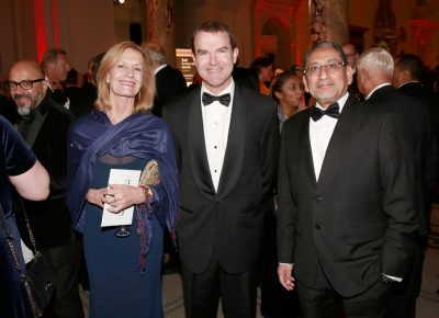 Tusk Conservation Awards Judges Karen Ross & Ali Kaka with John Scanlon, Secretary General of CITES