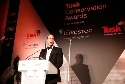 Prince William, Royal Patron of Tusk