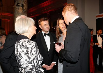 Prince William with guests