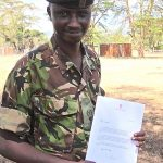 Edward Ndiritu - Winner of the Tusk Wildlife Ranger Award 2015
