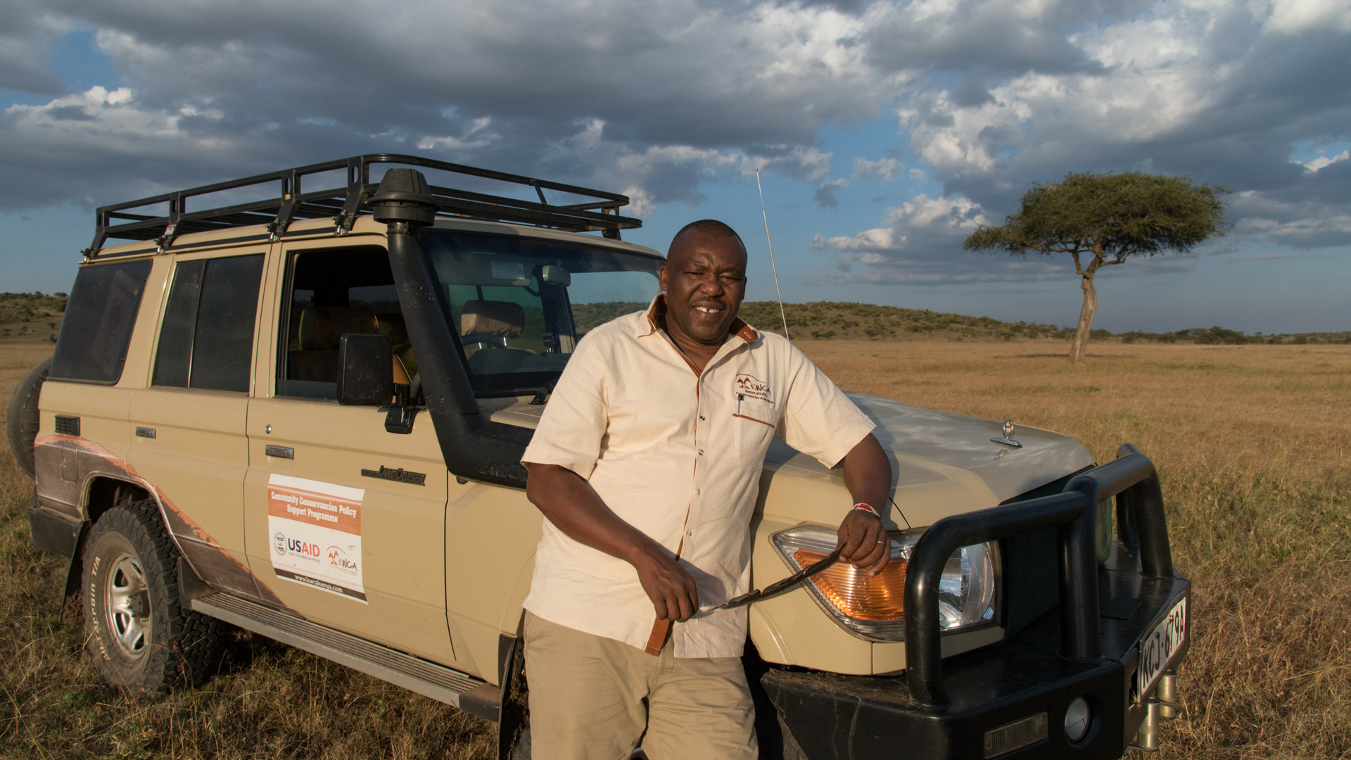 Dickson Kaelo - Tusk Award for Conservation in Africa finalist 2018