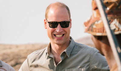 Tusk Awards - HRH the Duke of Cambridge in Namibia 2