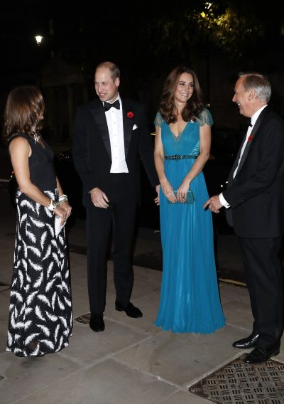 Tusk Awards 2018 - HRH Duke and Duchess of Cambridge with Charlie Mayhew and Sarah Watson