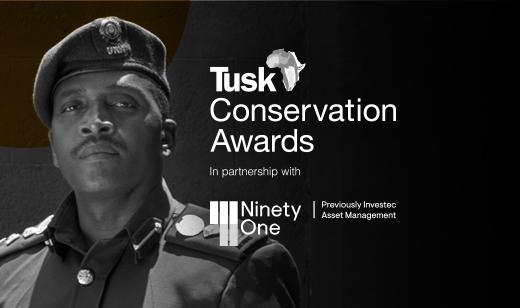 George Owoyesigire- Uganda - Tusk Conservation Award Finalist